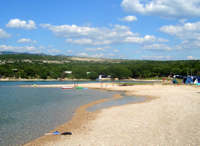 Beach Pušća - 400m from our apartments
